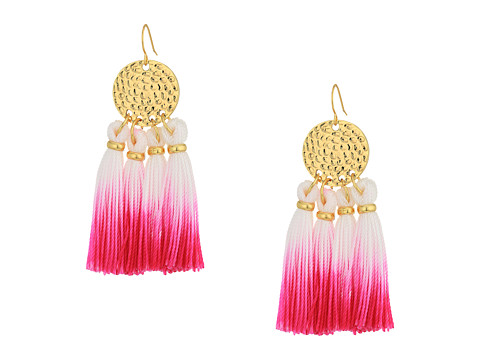 Lilly Pulitzer Dreamcatcher Earrings - Berry Sangri