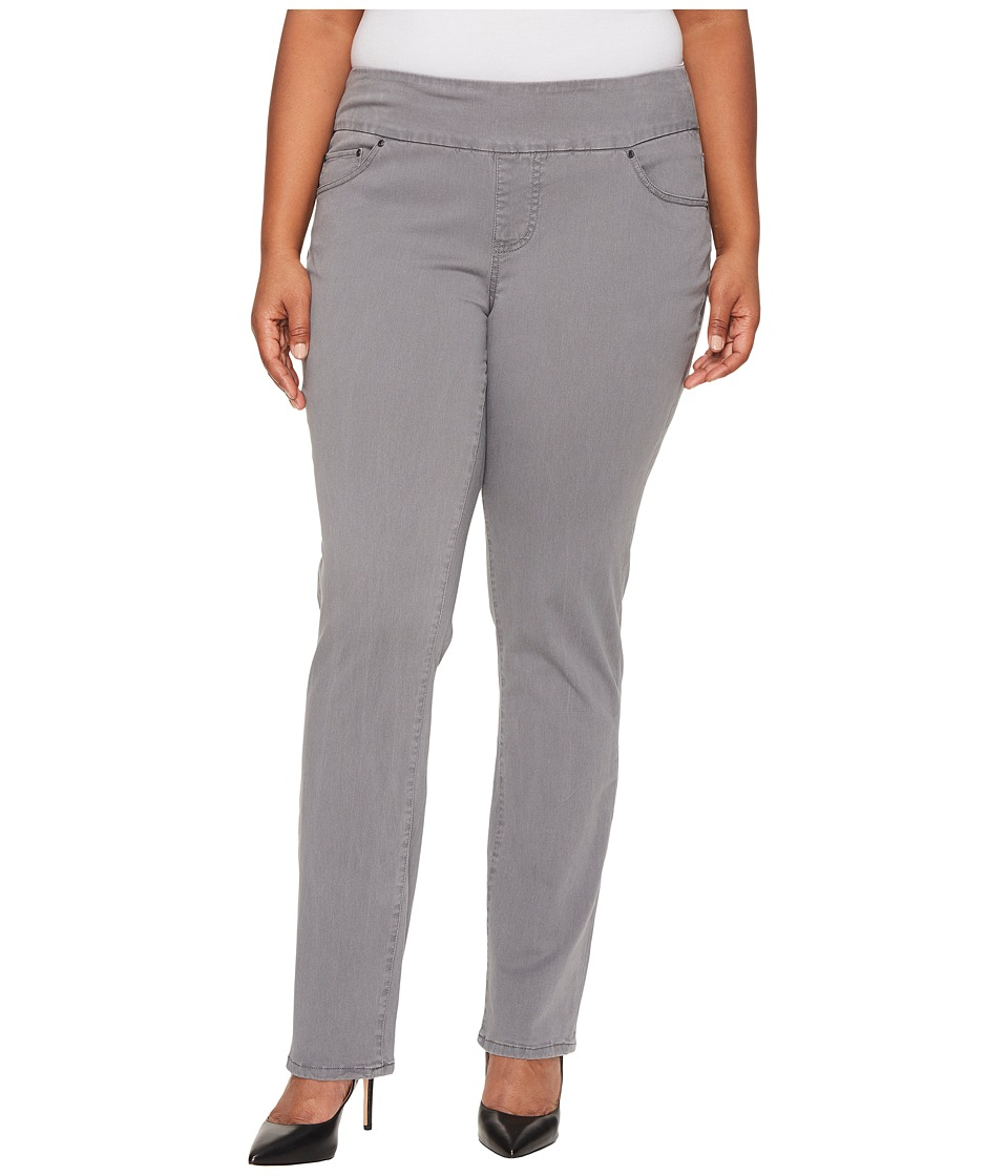 Jag Jeans Plus Size Plus Size Peri Pull-On in Bay Twill (Grey Streak) Women