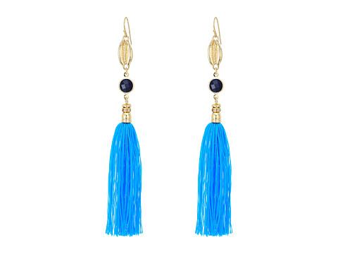 Lilly Pulitzer Seaside Tassel Earrings - Capri Teal