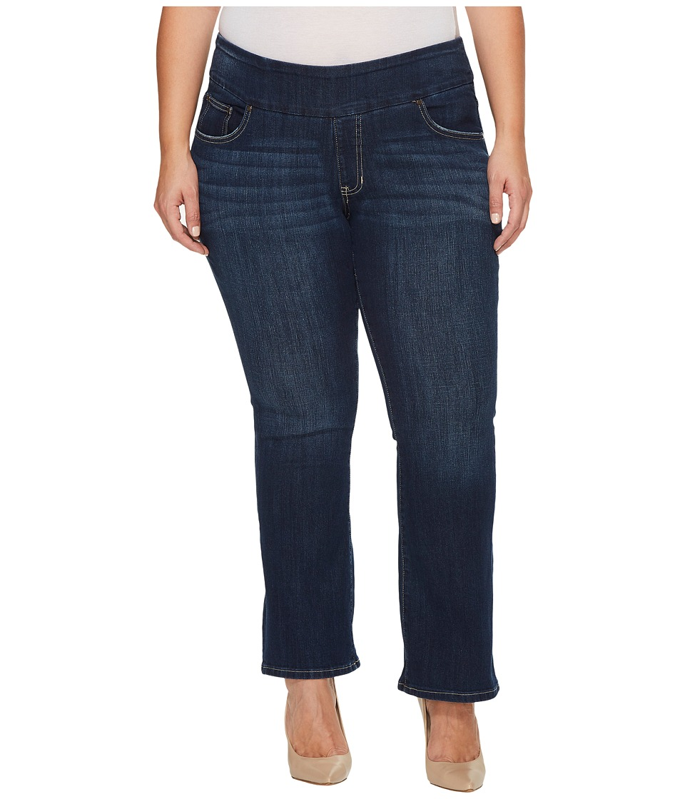 Jag Jeans Plus Size Plus Size Petite Paley Pull-On Boot in Surrel Denim in Meteor Wash (Meteor Wash) Women