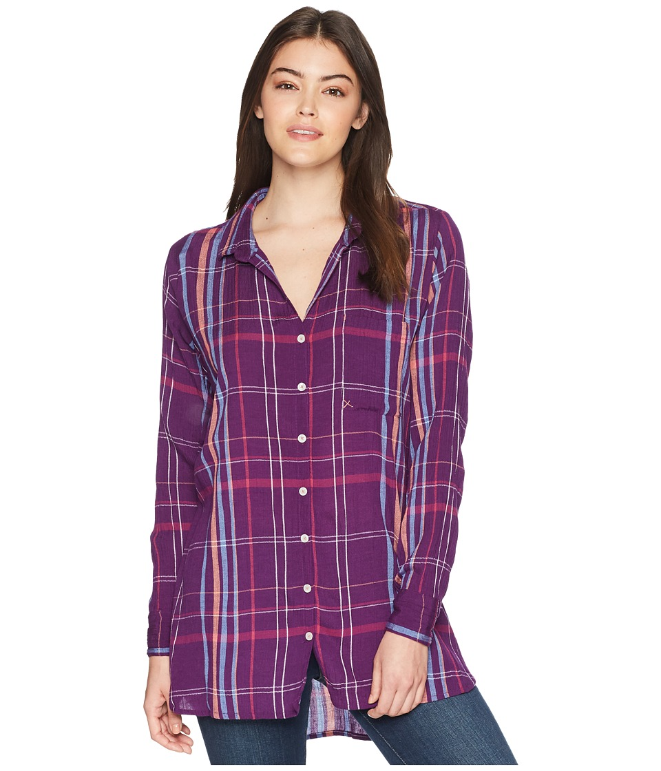 Mountain Khakis - Jenny Tunic Shirt (Violette) Womens Blouse