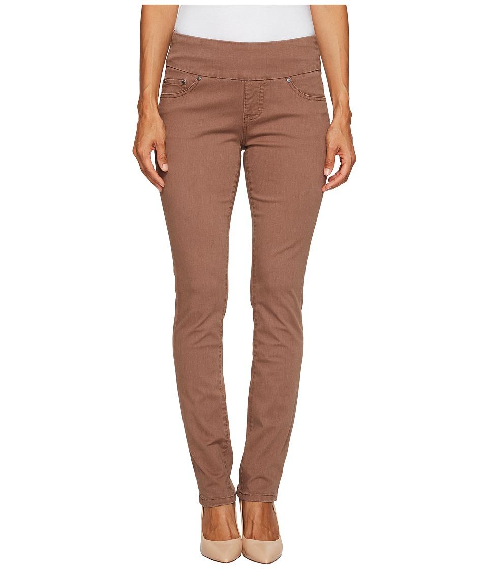 Jag Jeans Petite Petite Peri Pull On Straight Twill Pants (Birds Nest) Women