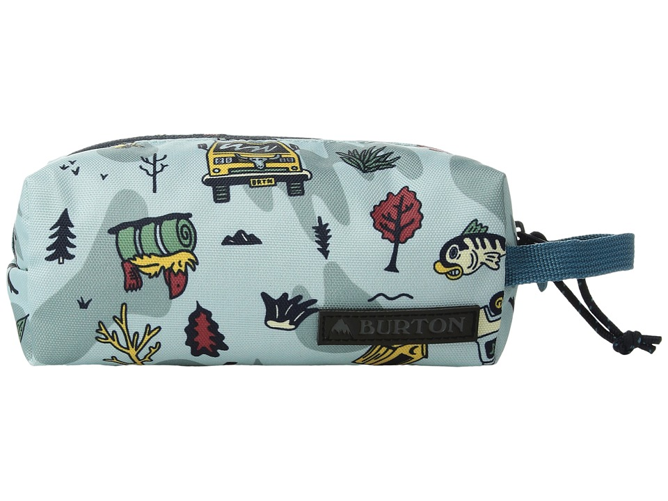 Burton - Accessory Case (Backpacker Print) Travel Pouch