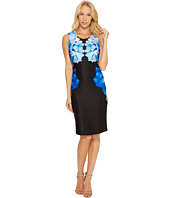 Calvin Klein - Printed Scuba Sheath Dress