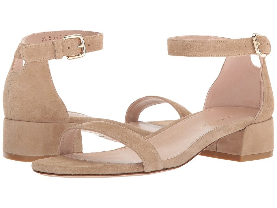Stuart Weitzman Nudistjune (Mojave Suede) Women's Shoes