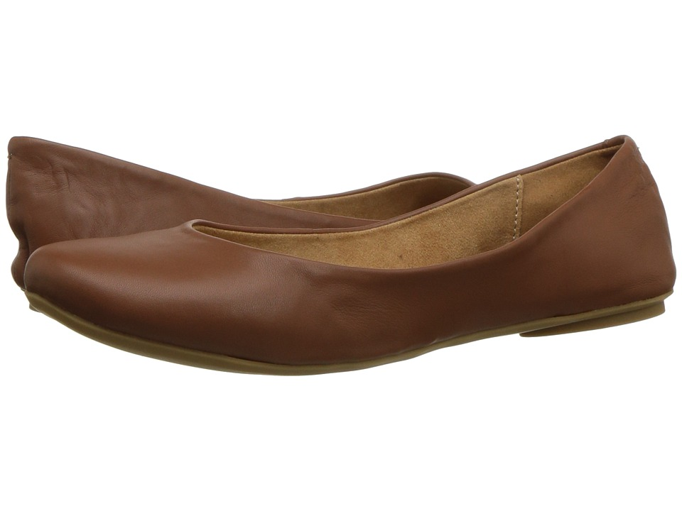 Kenneth Cole Reaction Slip On By (Cognac Leather) Flats
