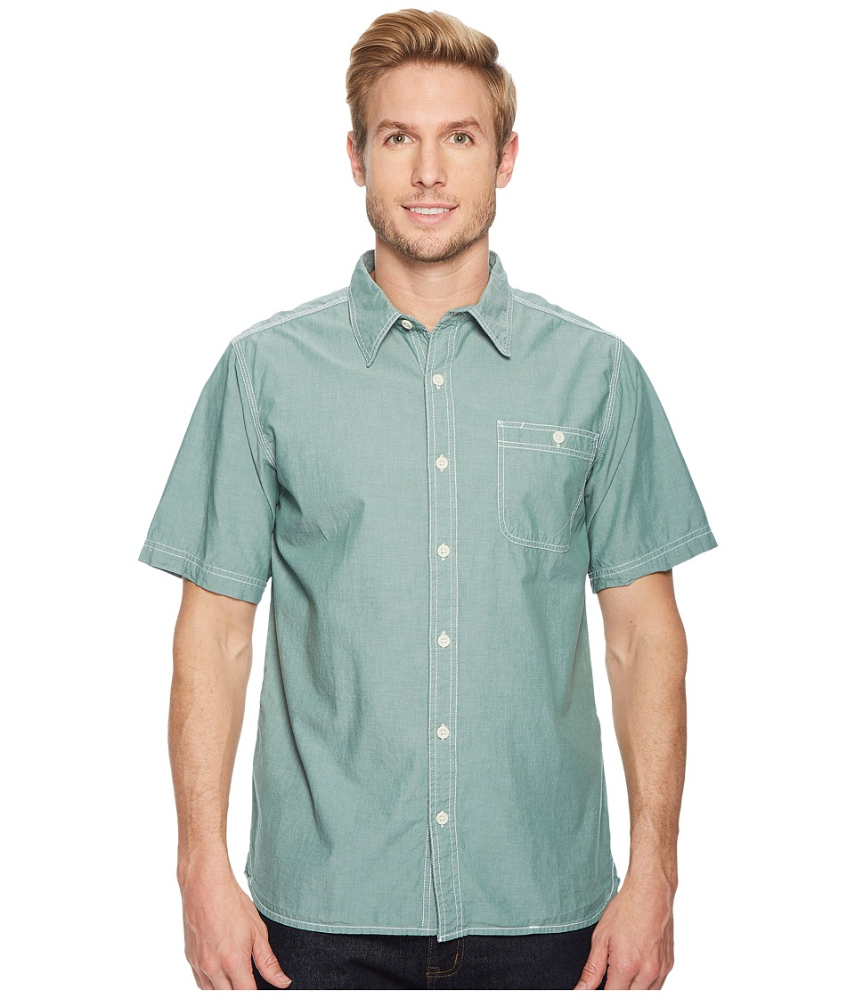 Mountain Khakis - Mountain Chambray S/S Shirt (Deep Sea) Mens T Shirt