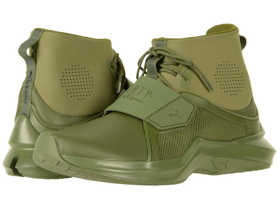 Puma The Trainer Hi by Fenty (Cypress/Cypress) Women's Shoes