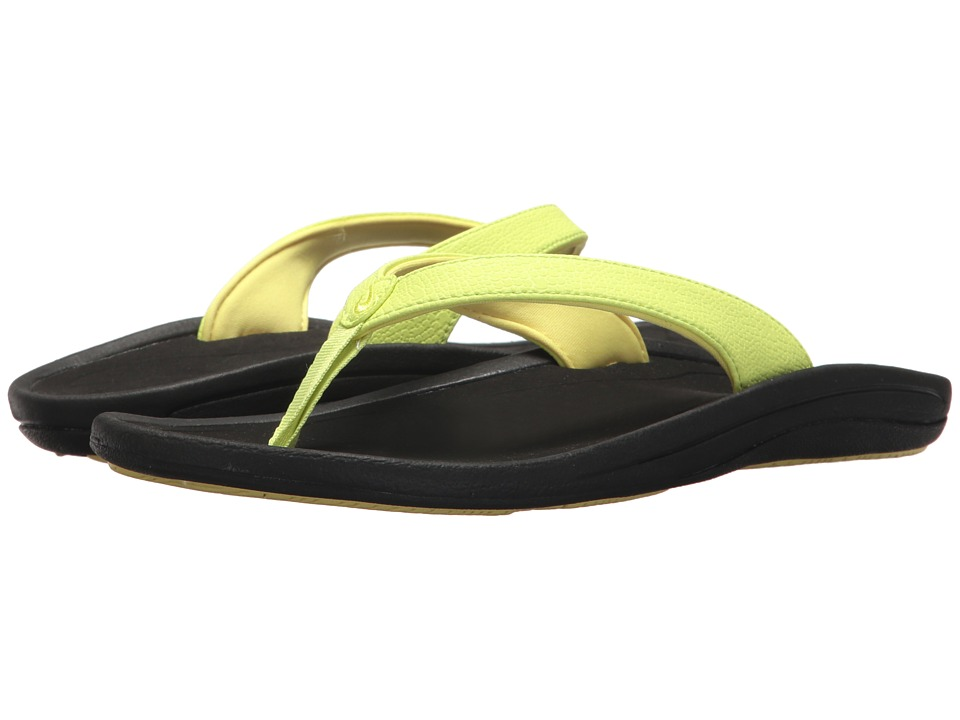 OluKai Kulapa Kai W (Pineapple/Black) Sandals