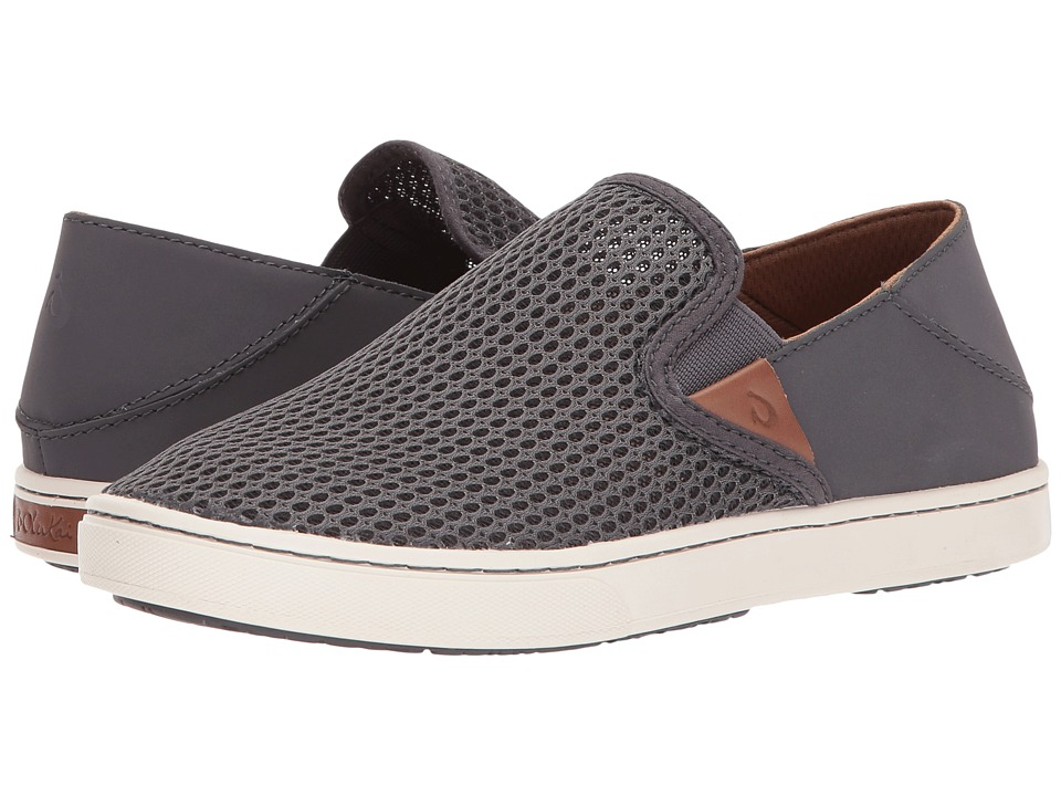 OluKai - Pehuea (Pavement/Pavement) Womens Slip on  Shoes