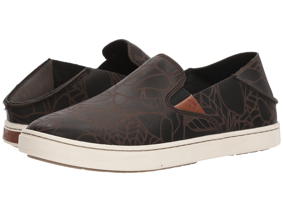 OluKai Pehuea Lau (Black/Black) Women's Shoes