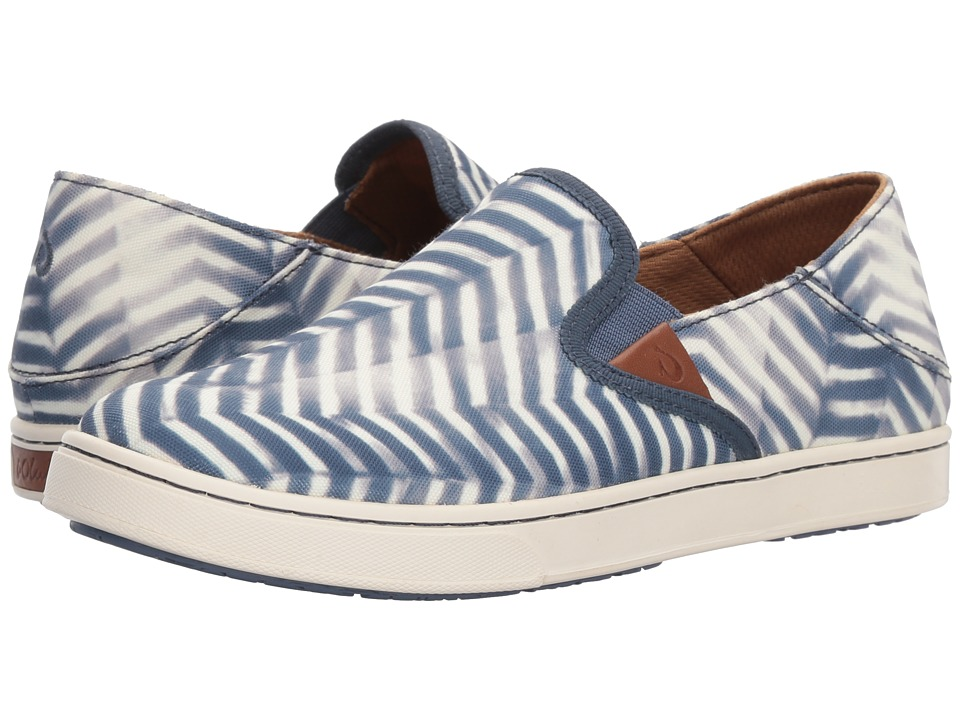 OluKai Pehuea Pa'i (Vintage Indigo/Off-White) Women's Shoes