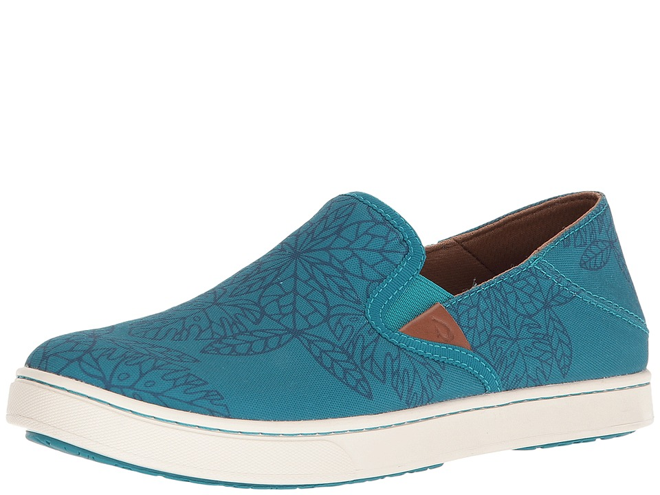 OluKai Pehuea POW! WOW! (Teal/Legion Blue) Women's Shoes