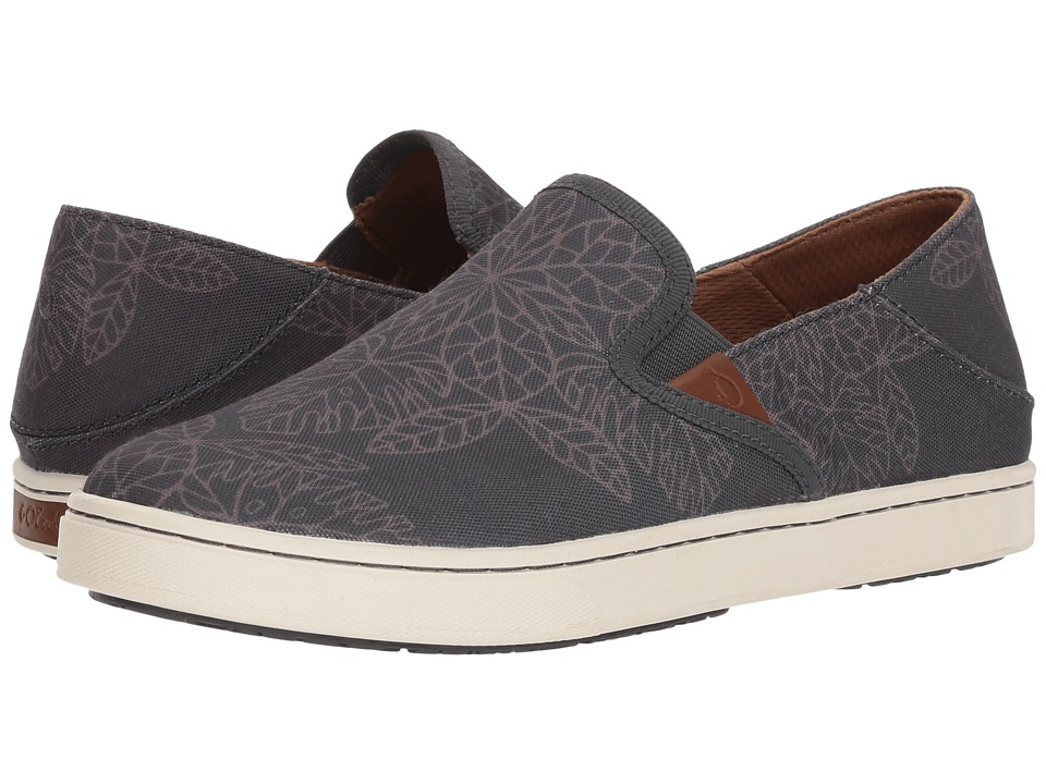OluKai Pehuea POW! WOW! (Dark Shadow/Charcoal) Women's Shoes