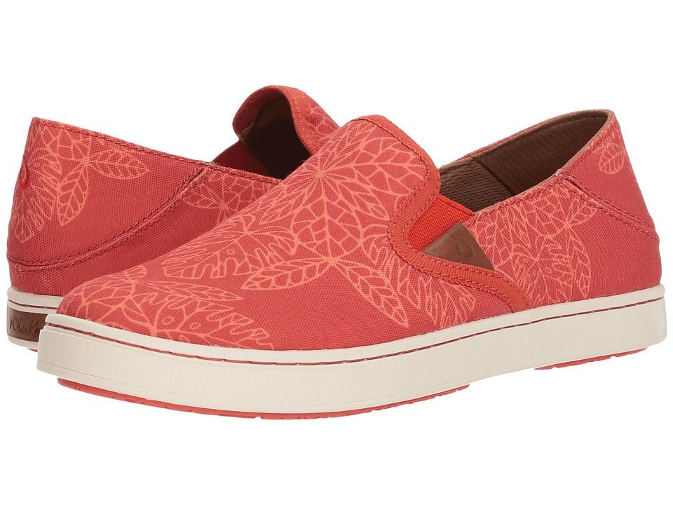 OluKai Pehuea POW! WOW! (Paprika/Melon) Women's Shoes
