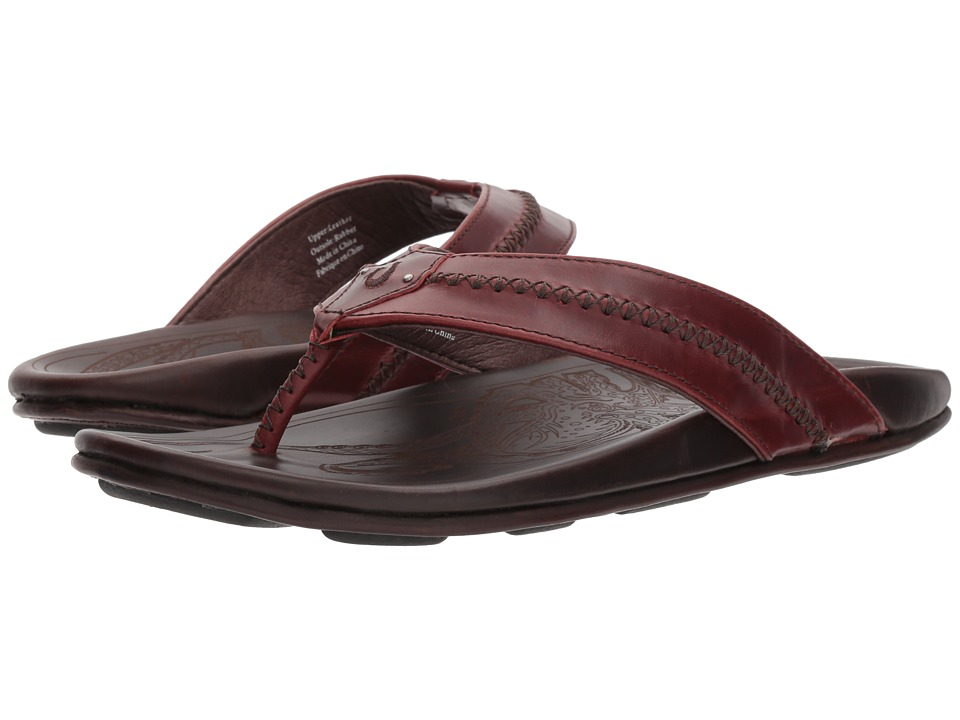 OluKai - Mea Ola (Terra/Dark Wood) Mens Sandals