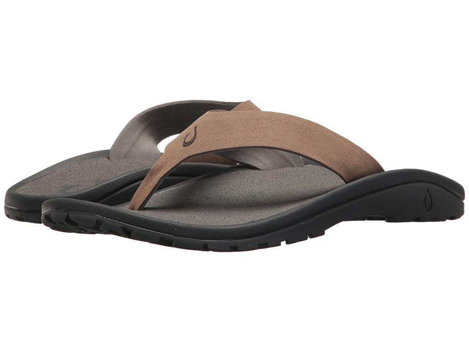 3f704cdcc OluKai -  Ohana Ho okahi (Mustang Charcoal) Men s Sandals