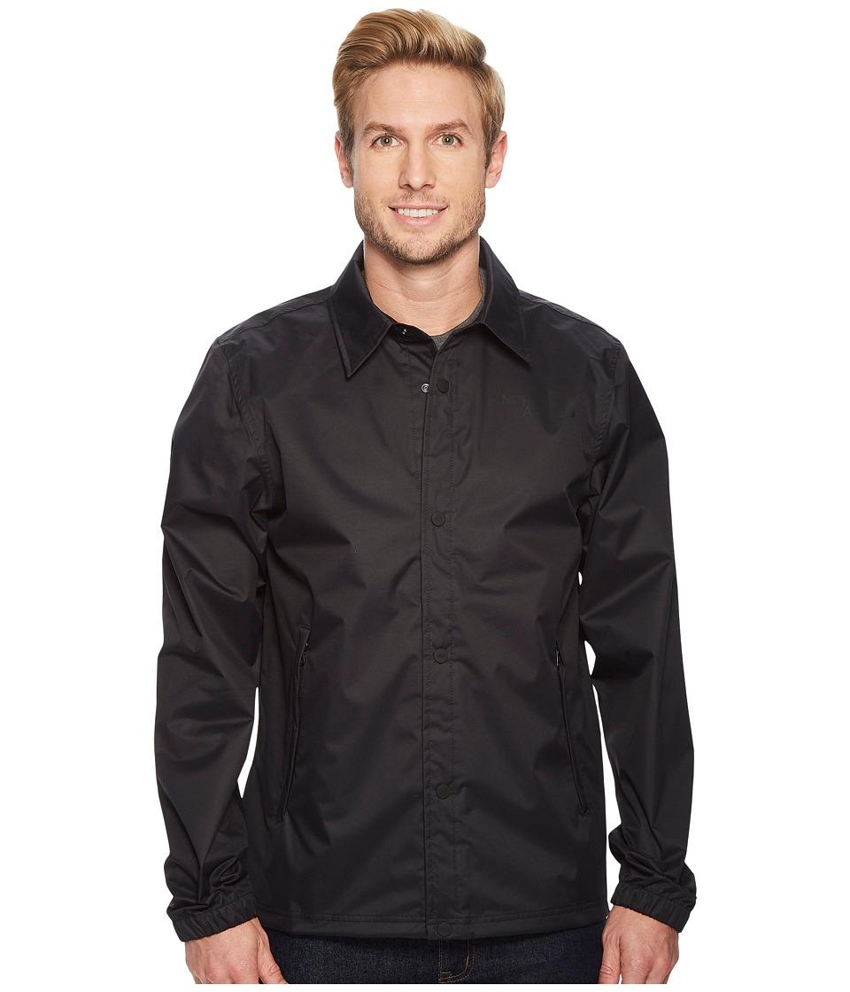 The North Face TNF Coaches Rain Jacket (TNF Black) Men