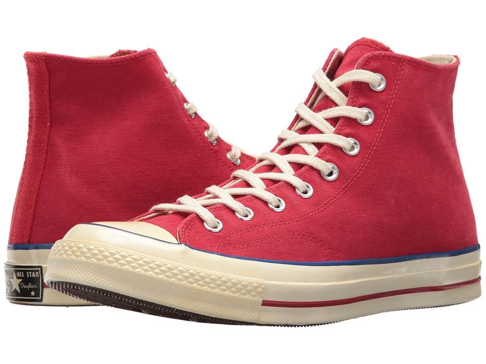Mens Vintage Style Shoes| Retro Classic Shoes Converse - Chuck Taylorr All Starr 70s Hi RedBlueEgret Shoes $85.00 AT vintagedancer.com