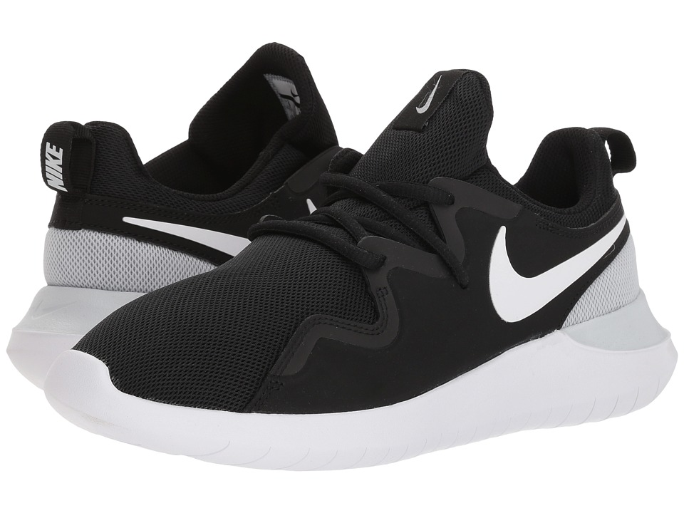 Nike - Tessen (Black/White/Pure Platinum) Womens Shoes
