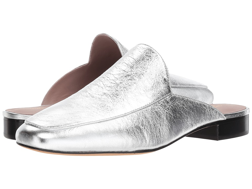 Diane Von Furstenberg Lexington (Metallic Silver Cracked ...