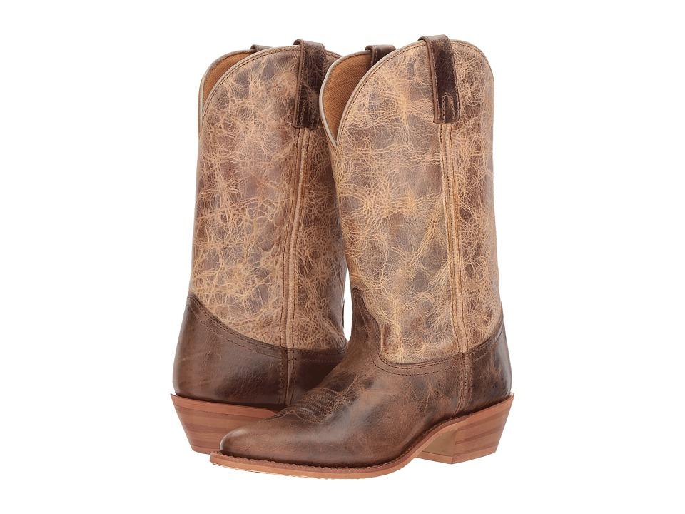 Dingo Jess (Chocolate/Tan) Cowboy Boots