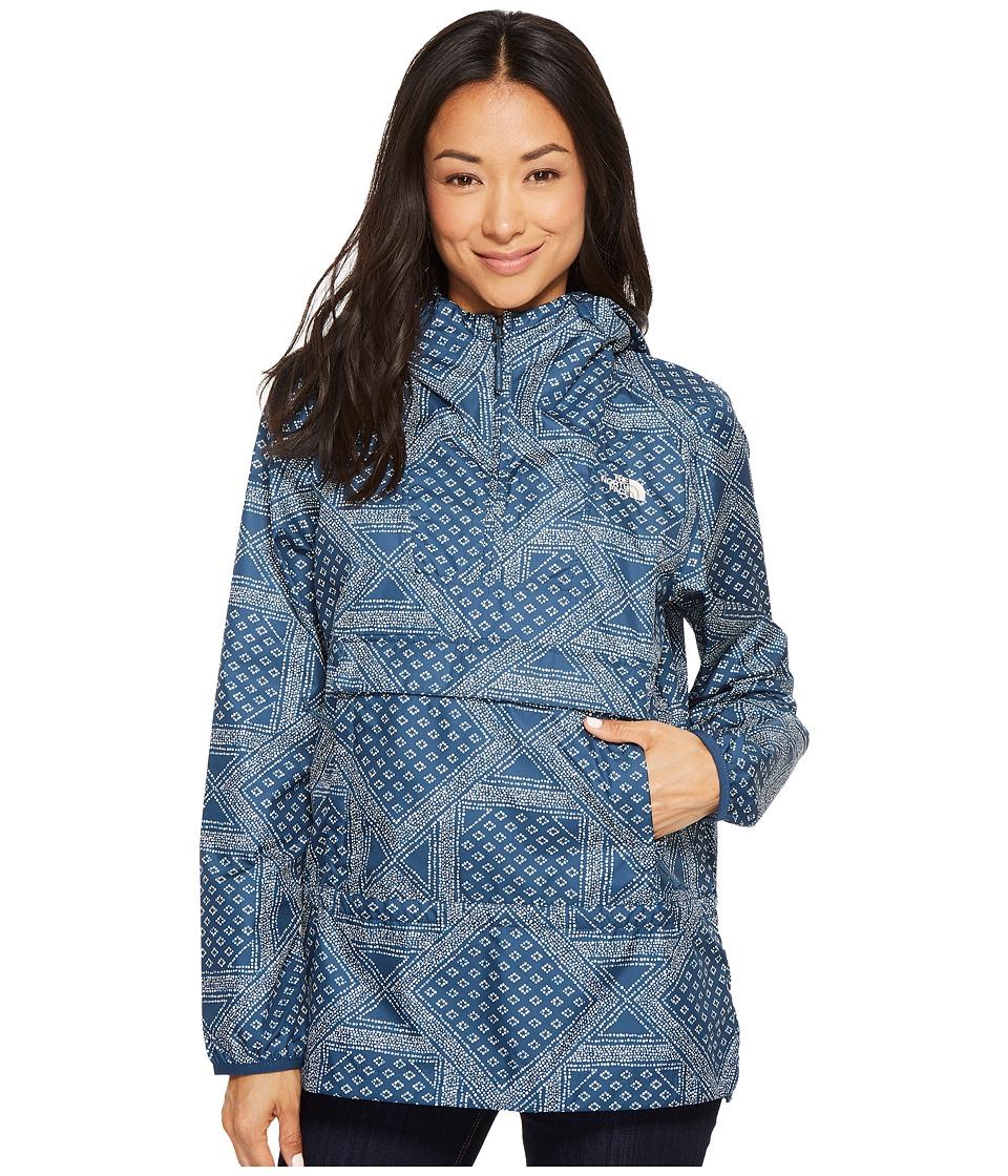 The North Face Fanorak (Blue Wing Teal Bandana Print) Women