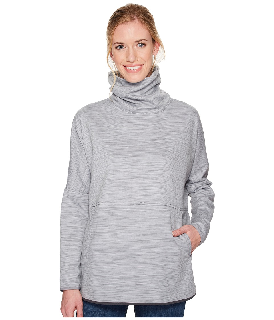 The North Face Slacker Poncho (TNF Medium Grey Heather Space Dye) Women