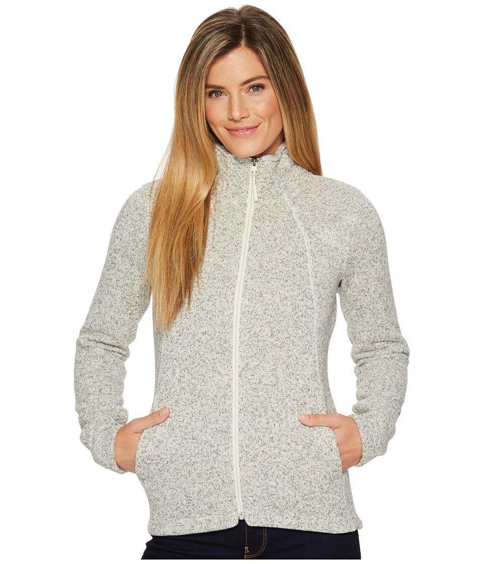 North Face Crescent Full Zip (Wild Oat Heather) Women's Coat
