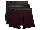 Kenneth Cole Reaction Performance Cotton Stretch 3-Pack Boxer Briefs