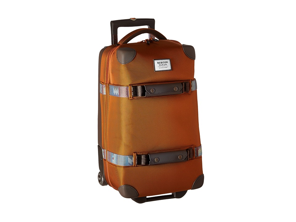 Burton - Wheelie Flight Deck (True Penny Ballistic) Carry on Luggage