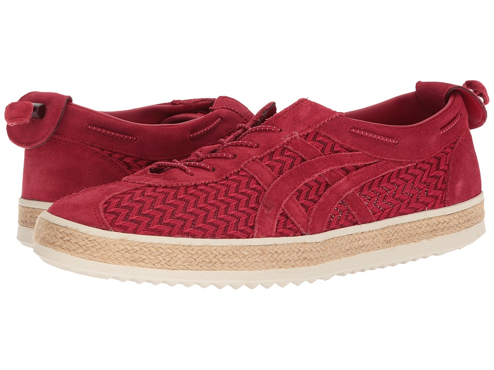 Onitsuka Tiger by Asics Delegation Light (Classic Red/Classic Red) Athletic Shoes