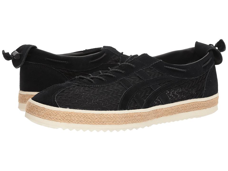 Onitsuka Tiger by Asics Delegation Light (Black/Black) Athletic Shoes