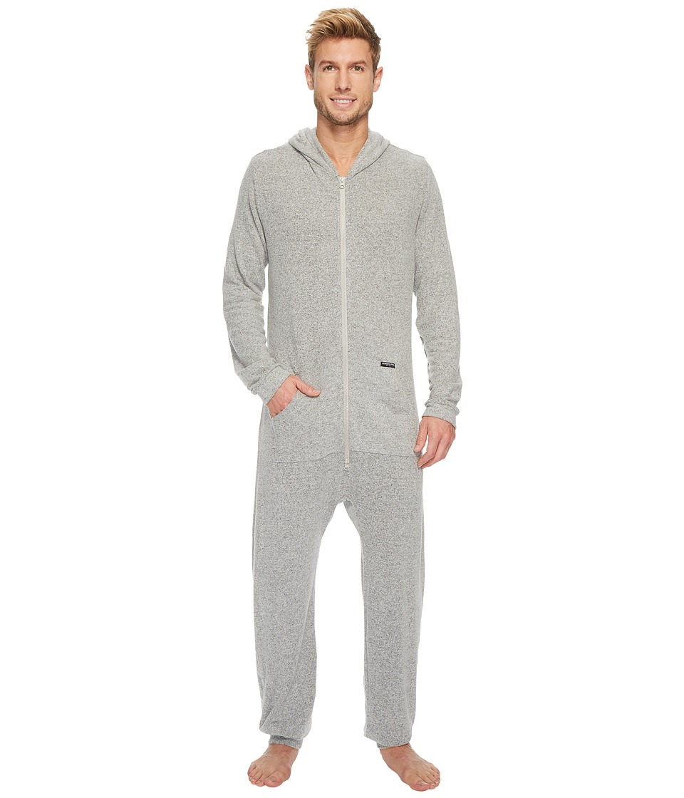 Kenneth Cole Reaction Cozy Sweater One-Piece (Light Grey Heather) Men