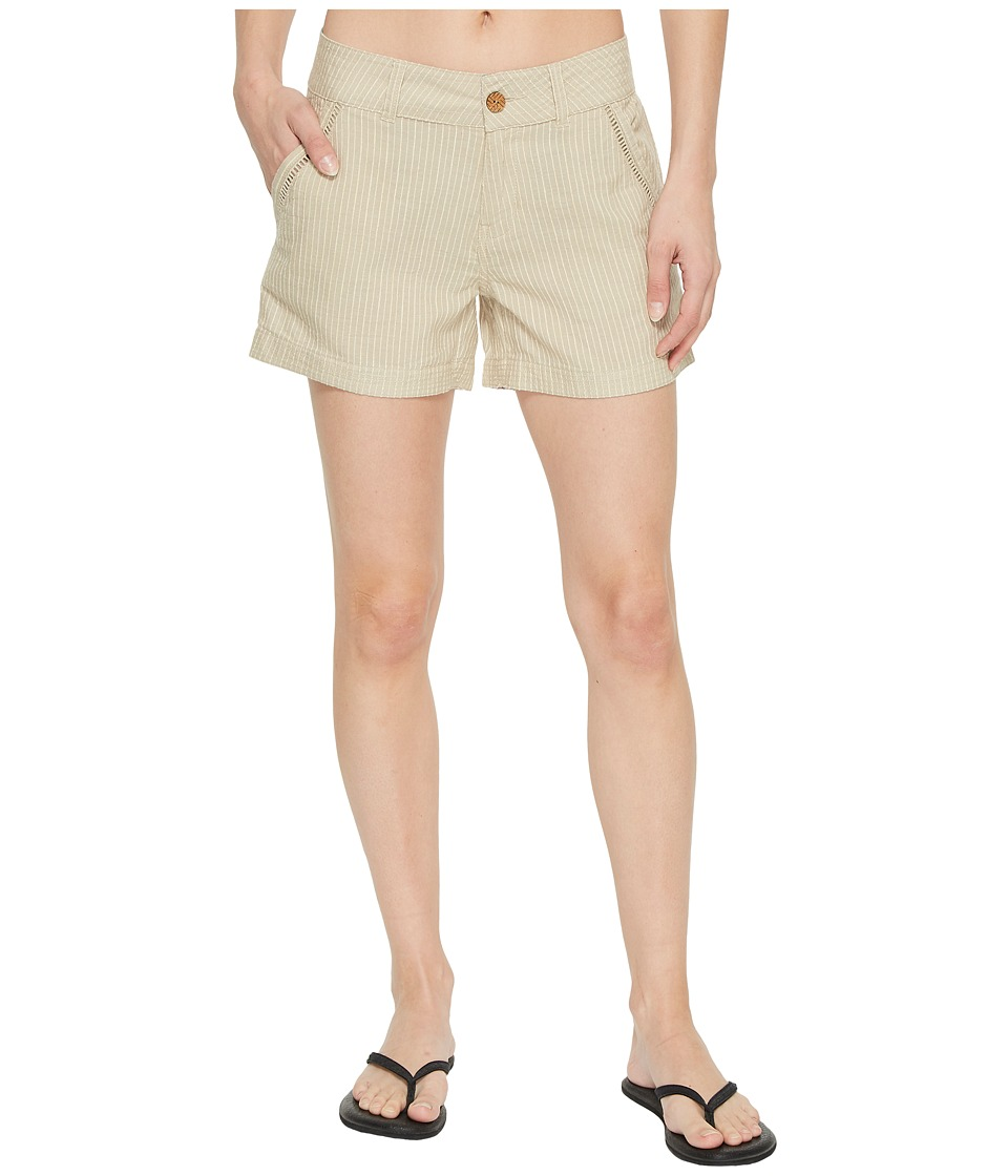 Mountain Khakis - Seaside Shorts Relaxed Fit (Freestone) Womens Shorts