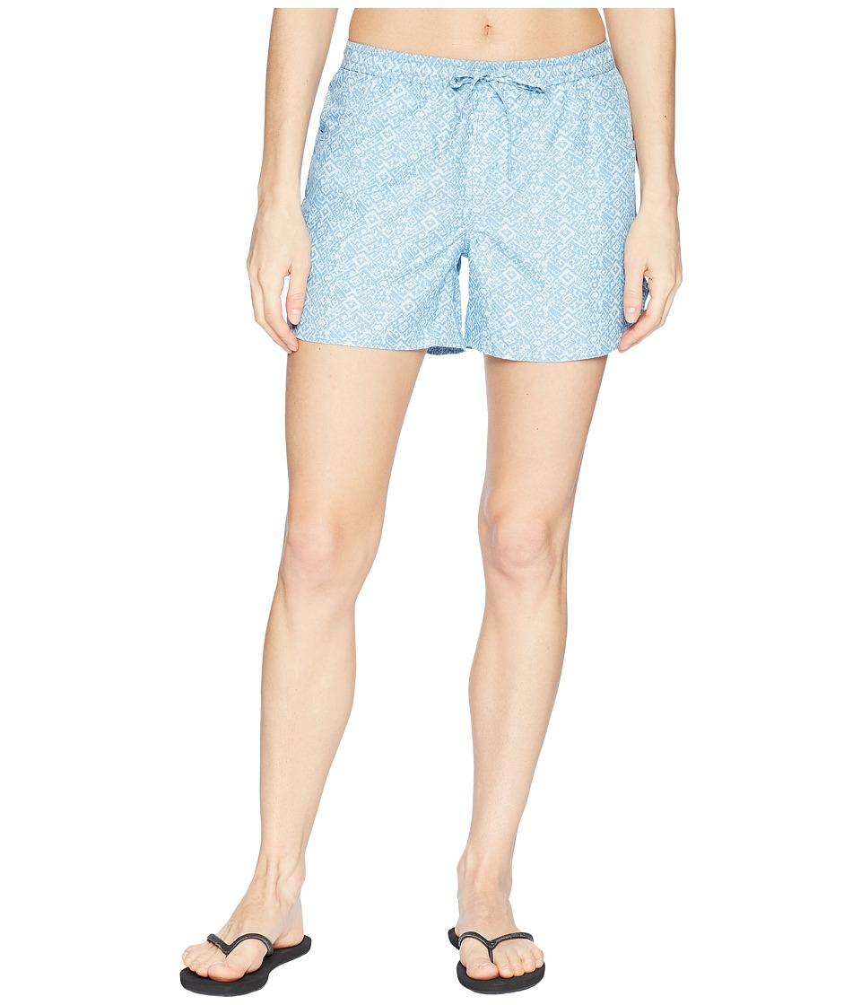 Mountain Khakis - Hailey Shorts Classic Fit (Heron Print) Womens Shorts