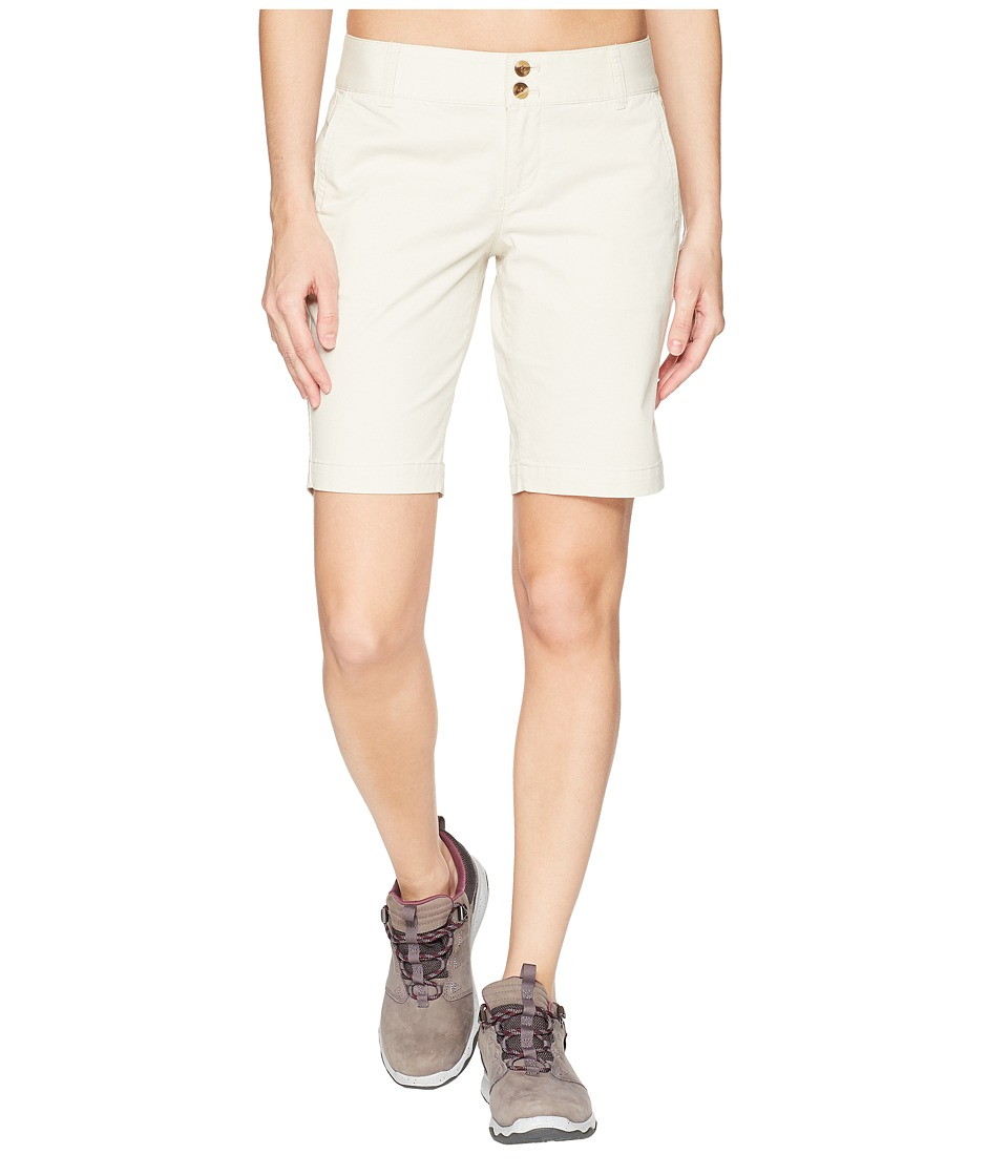 Mountain Khakis - Sadie Bermuda Shorts Classic Fit (Stone) Womens Shorts