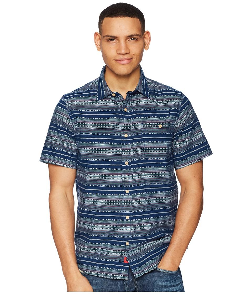 Mountain Khakis - Horizon Short Sleeve Shirt (Twilight) Mens Clothing