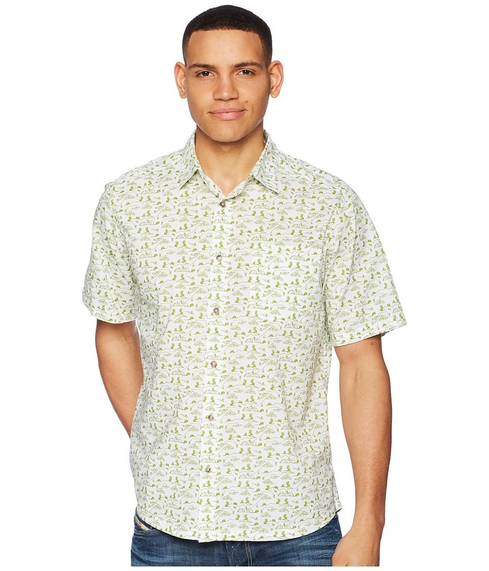 Mountain Khakis - Outdoorist Signature Print Shirt (Linen) Mens Clothing