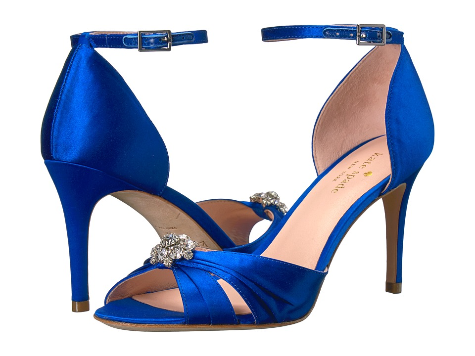 Kate Spade New York Medina (Cobalt Satin) Women