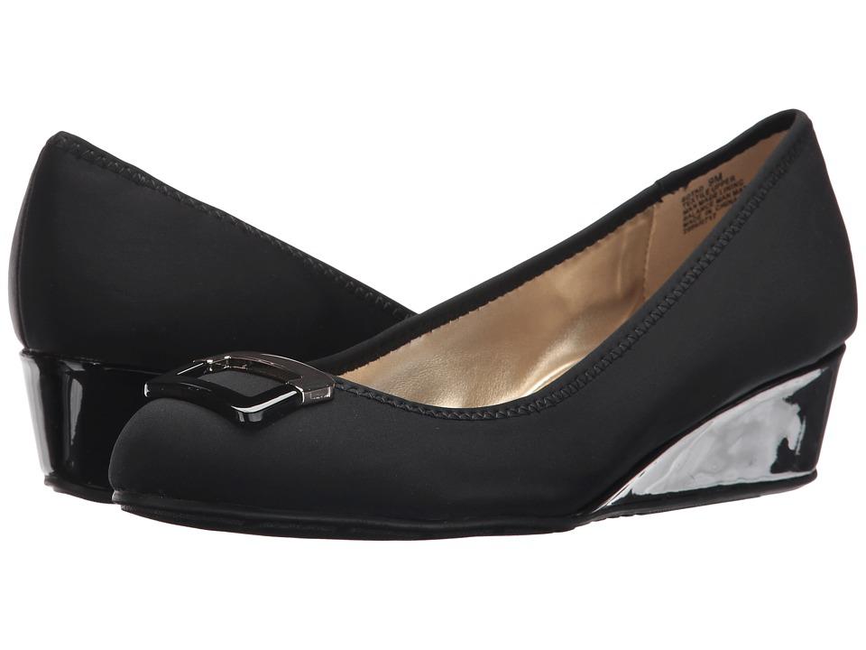Bandolino Tad (Black Lycra) Sandals