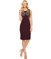 Calvin Klein - Sheath Dress with Floral Studs