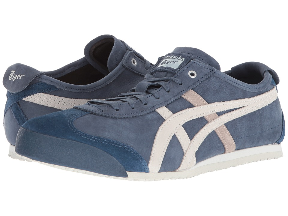 Onitsuka Tiger by Asics - Mexico 66(r) (Dark Blue/Vaporous Grey) Athletic Shoes