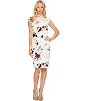 Calvin Klein - Printed High Neck Dress