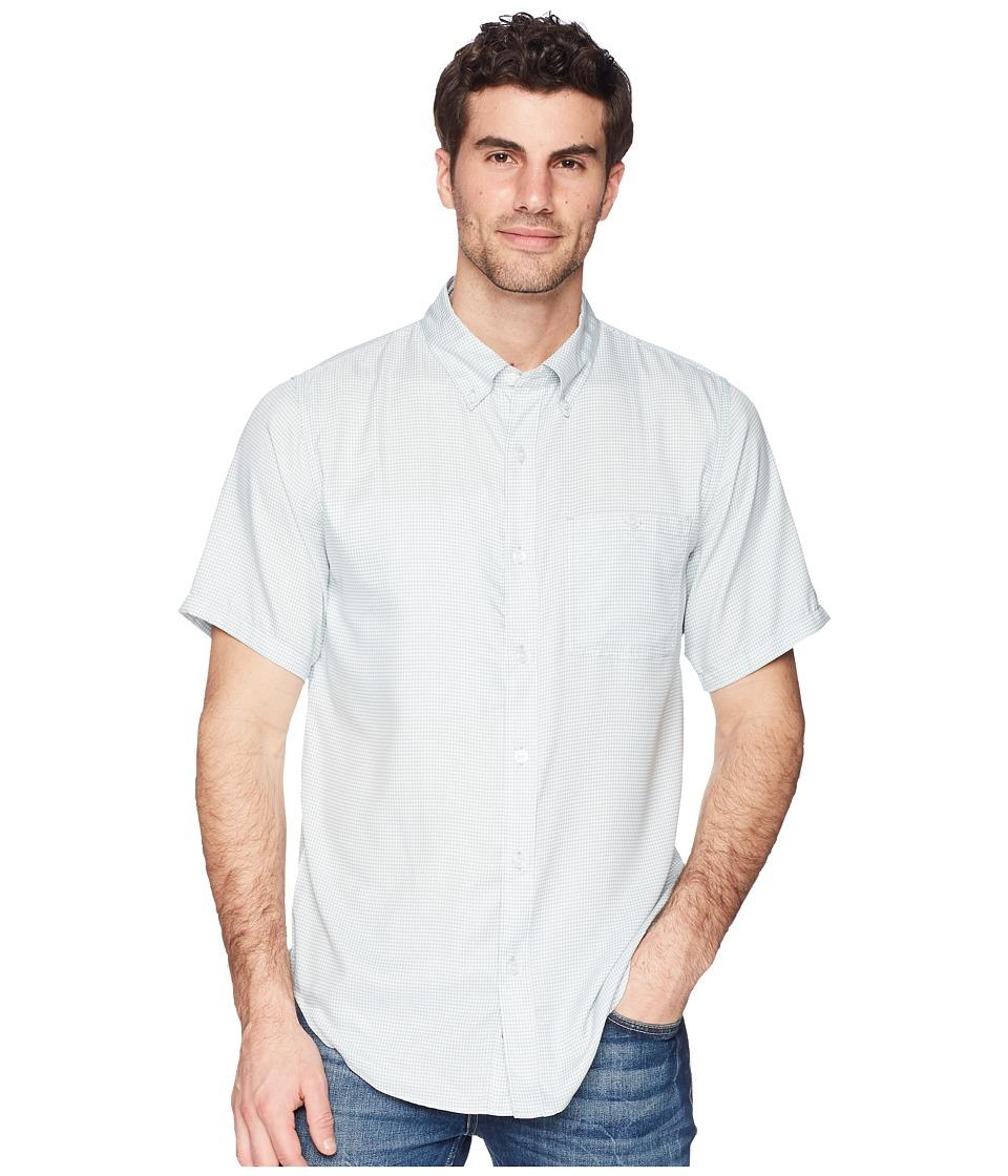 Mountain Khakis - Passport EC Short Sleeve Shirt (Smoke) Mens Clothing