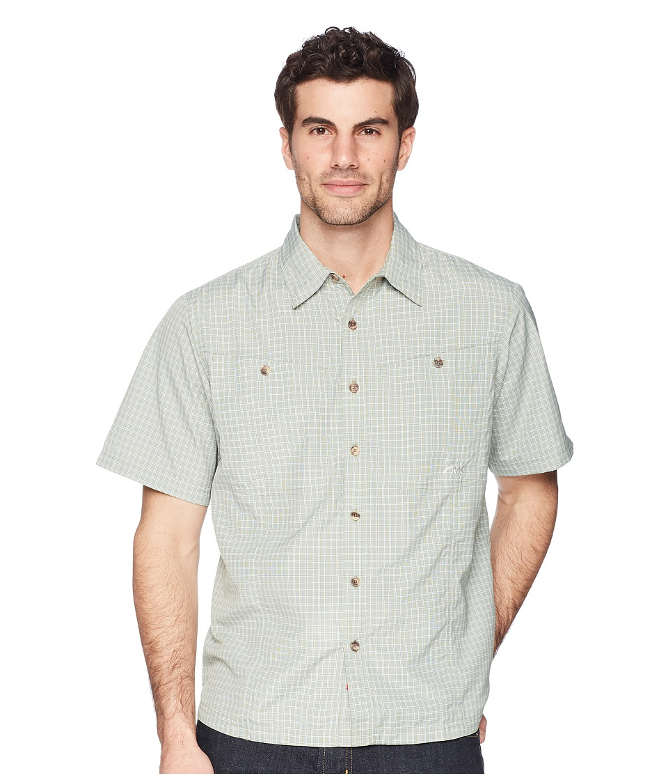 Mountain Khakis - Trail Creek Short Sleeve Shirt (Sage) Mens Clothing