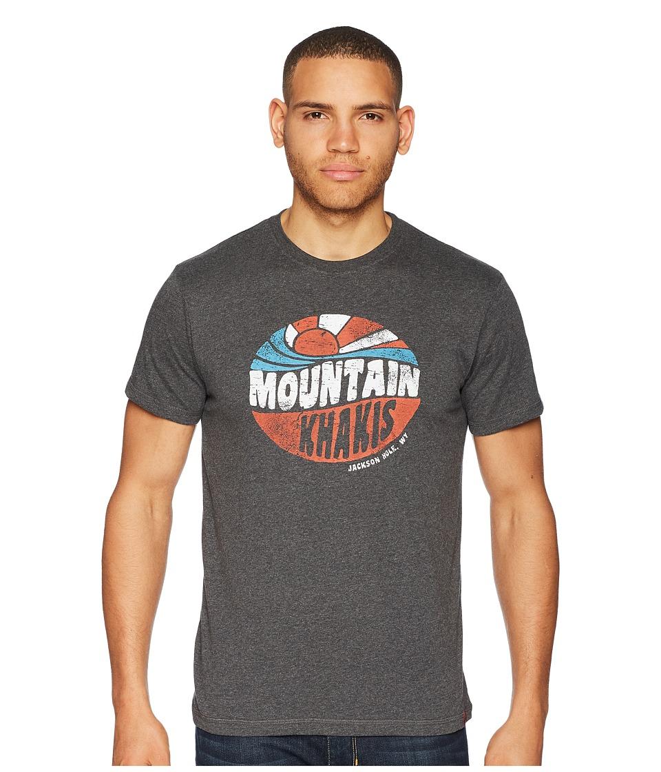 Mountain Khakis - Soul Shine T-Shirt (Charcoal Heather) Mens T Shirt