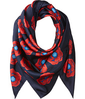 Tory Burch - Poppy Floral Silk Square Scarf