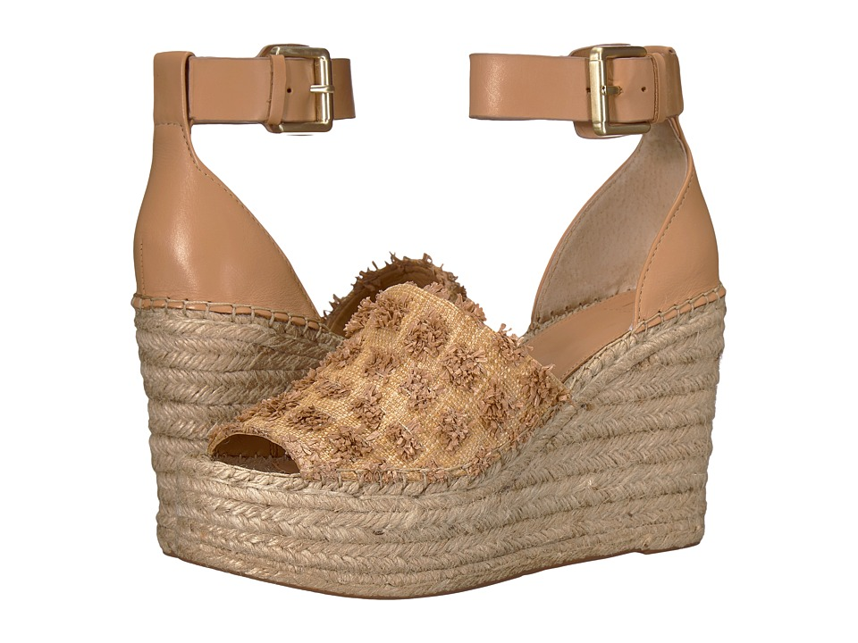 Marc Fisher LTD Adalyn Espadrille Wedge (Taupe/New Beige Paleni/Fine Stetson) Women