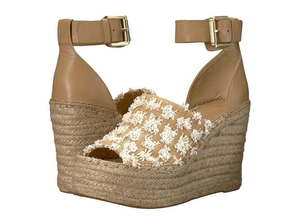 Marc Fisher LTD Adalyn Espadrille Wedge (White/Ambra Paleni/Fine Stetson) Women